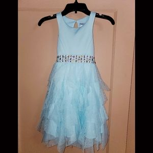 Girl's Sleeveless Special Occasion Dress